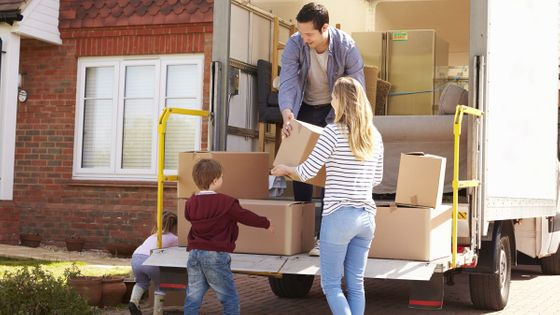 A family moving home